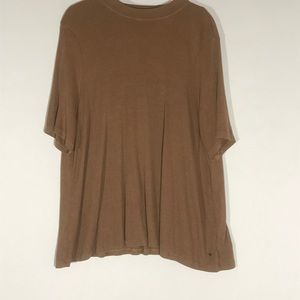 American Eagle NWT Ribbed Swing top Open back XXL